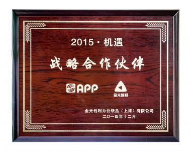 2015金光战略伙伴